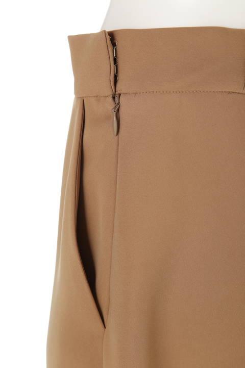 【大きいサイズ】平二重フレアスカート
