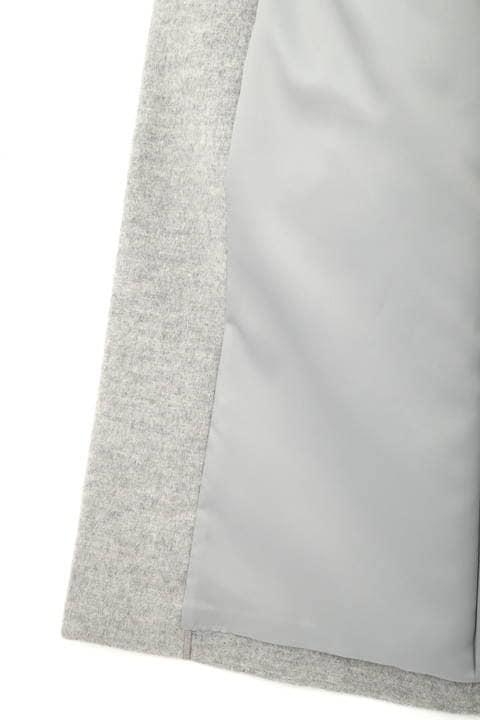 【大きいサイズ】カシミヤ混ウールコート