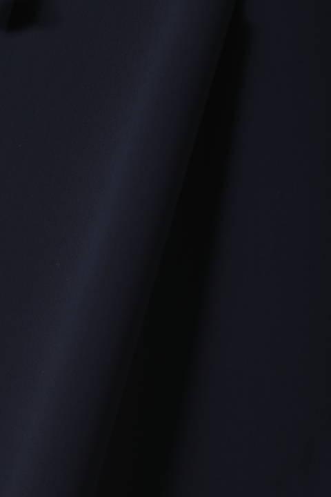 [ウォッシャブル]ダブルサテンドロストブラウス
