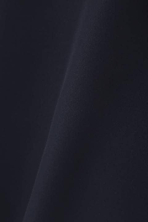 [ウォッシャブル]【鈴江奈々さん着用】【大きいサイズ】ボウタイ風ブラウソー