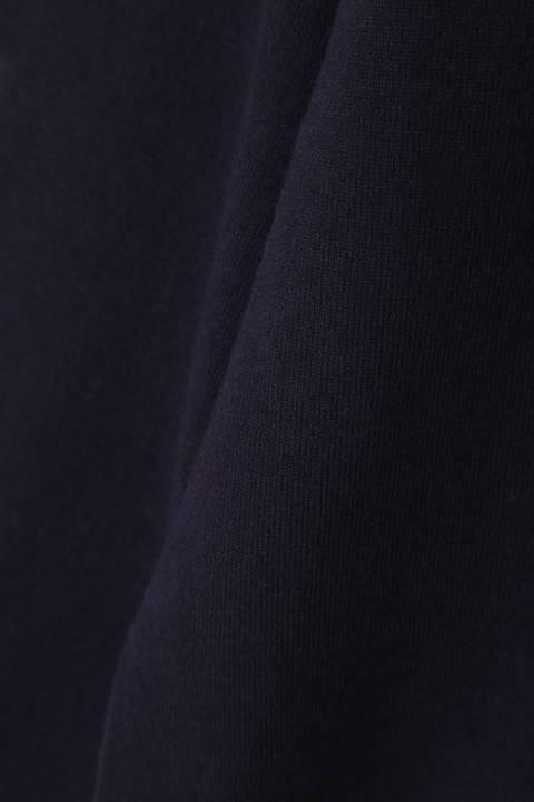 [ウォッシャブル]【鈴江奈々さん着用】【大きいサイズ】ボウタイニット