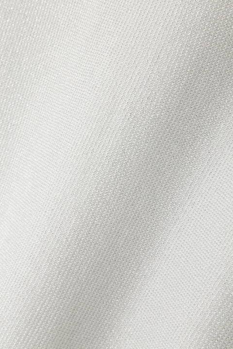 [ウォッシャブル]ラメ混ドルマンニット