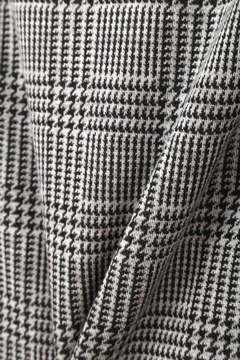 【大きいサイズ】グレンチェックジャカードスカート