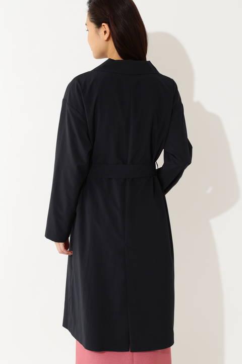 【大きいサイズ】ロングタフタコート
