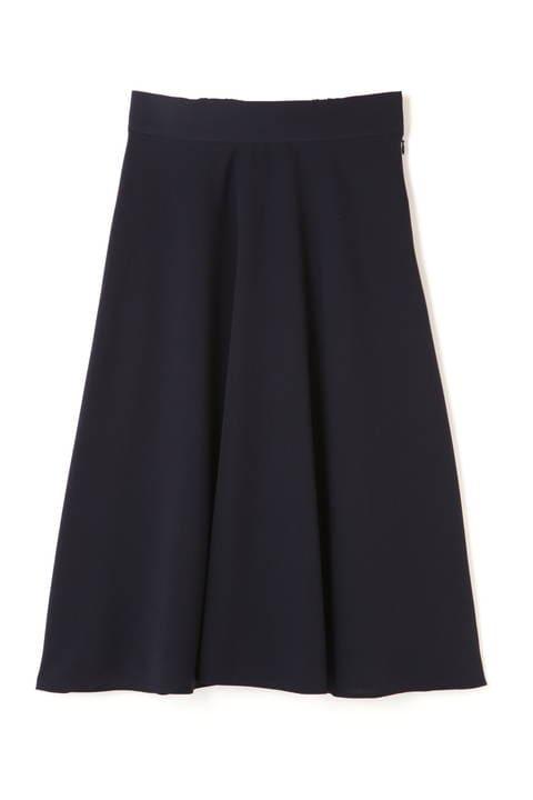 [ウォッシャブル]【大きいサイズ】ポリエステルフレアスカート