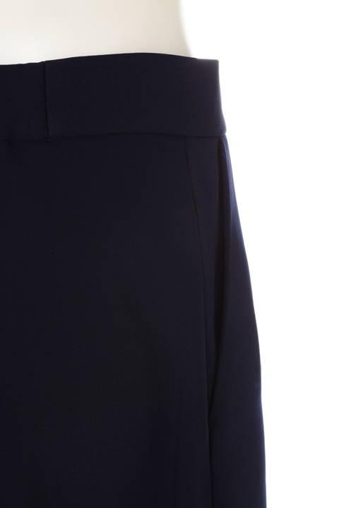 [WEB限定商品][ウォッシャブル]【大きいサイズ】ラップフレアスカート