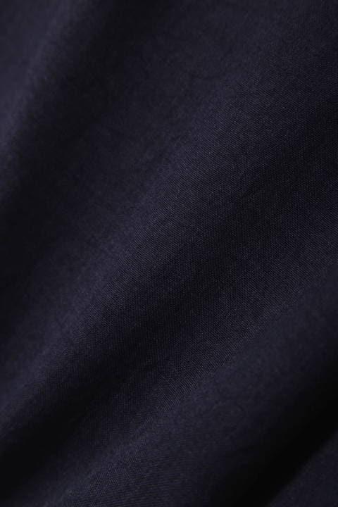 [ウォッシャブル]麻調ラップスカート