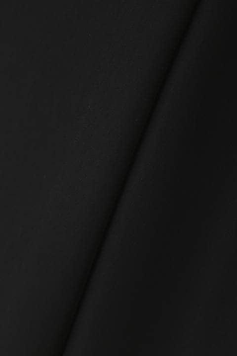 [ウォッシャブル]ダブルサテンパンツ