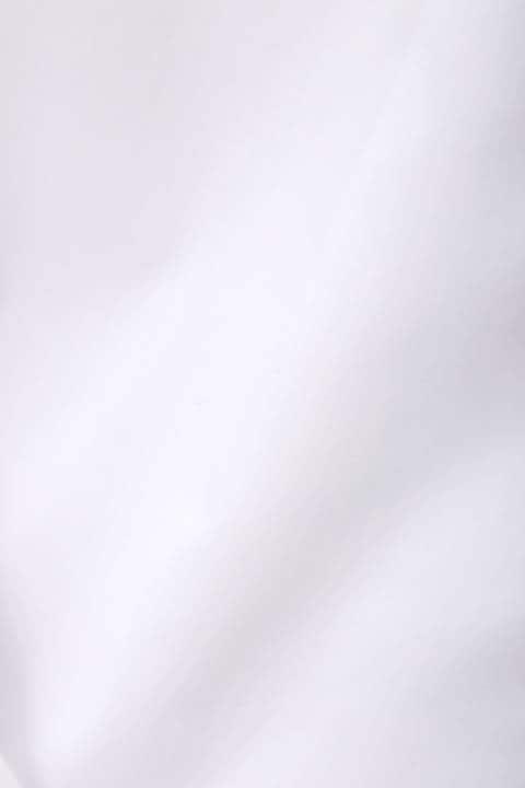 [ウォッシャブル]【大きいサイズ】テンセル混ポプリンブラウス