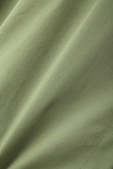 [ウォッシャブル]ストレッチブロードシャツ