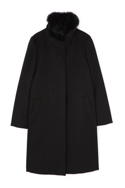 カシミヤウールコート