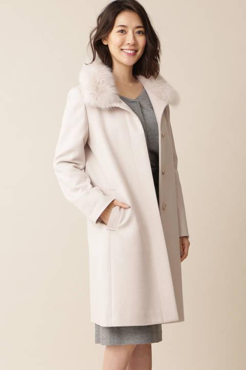 【先行予約 11月上旬-11中旬入荷予定】カシミヤウールコート