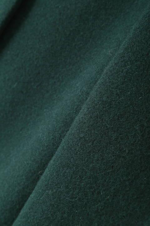 [WEB限定商品]ウールカラーレスコート
