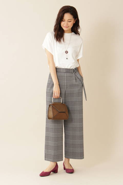 [ウォッシャブル][Weekend Line]マットフライスTシャツ