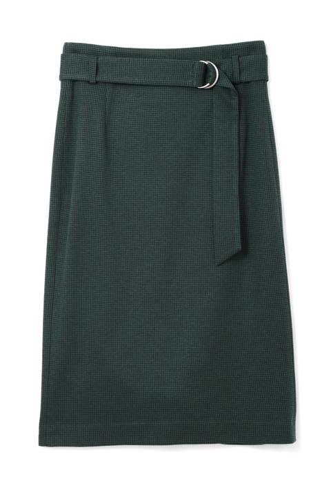 [ウォッシャブル]千鳥ジャカードスカート