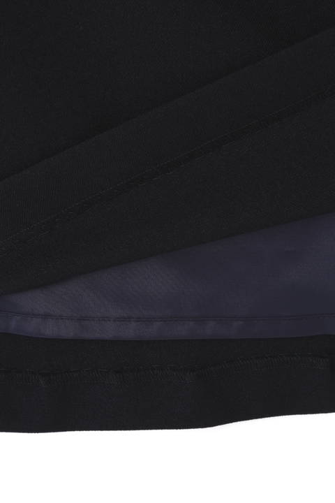 ウール調フレアスカート