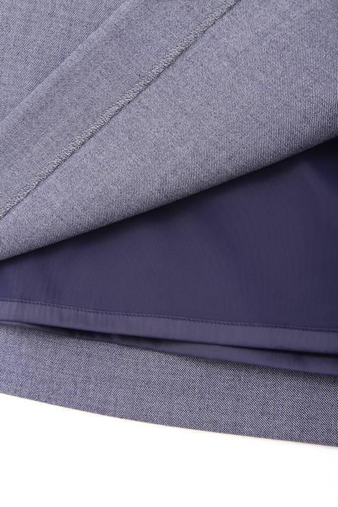 [ウォッシャブル]T/Wデニムライクタイトスカート