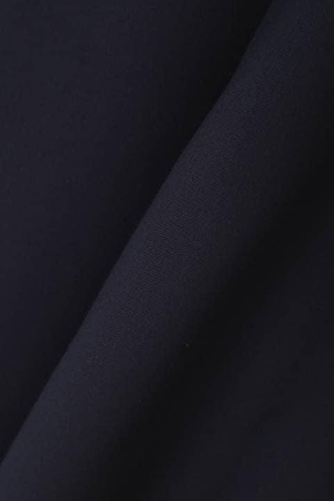 [ウォッシャブル][Weekend Line]TRフロントボタンフレアスカート