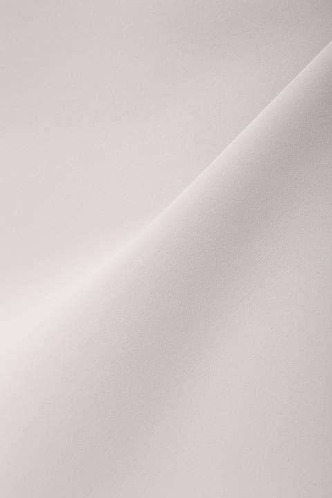 [ウォッシャブル]ツイルストレッチブラウス