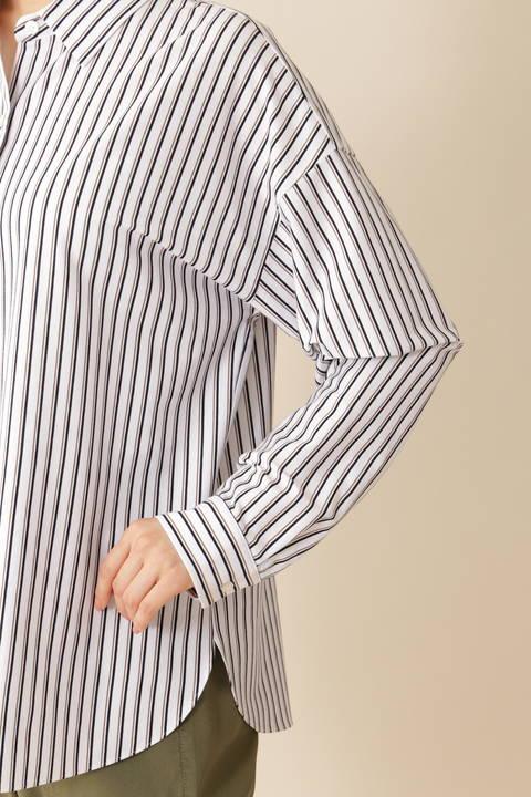 [ウォッシャブル][Weekend Line]ジャージーシャツ