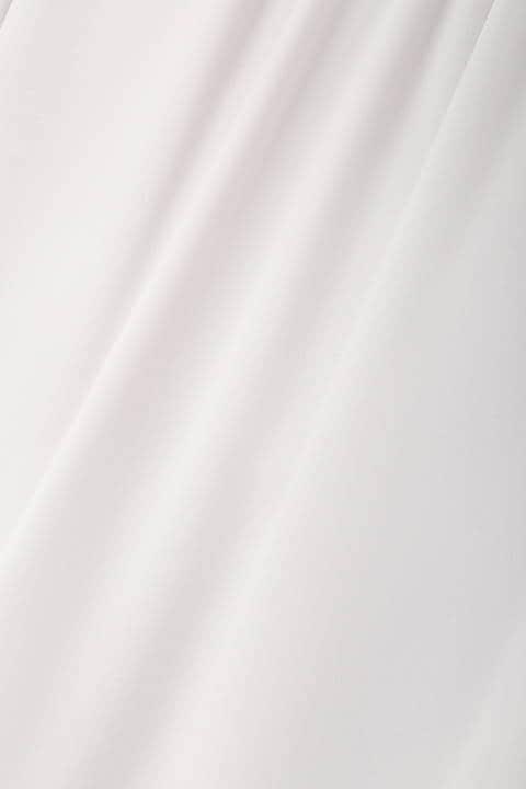 [ウォッシャブル]ジョーゼットスタンドブラウス