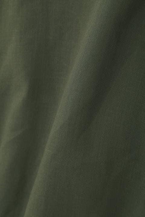 リネン調シャツ