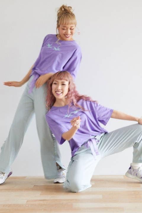 【suminami コラボ】ロゴプリントTシャツ