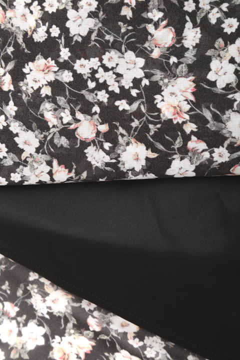 オリジナル小花プリントドレス