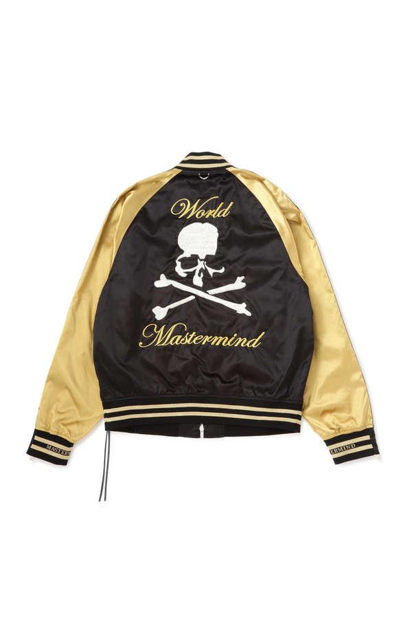 Nylon Skull Bomber JacketNylon Skull Bomber Jacket