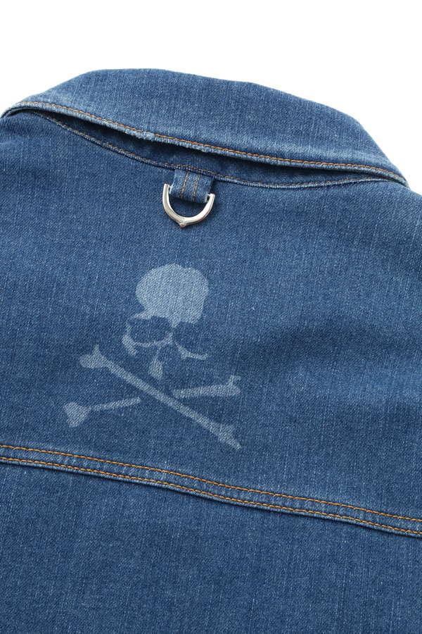 Water Repellent Denim Trucker Jacket