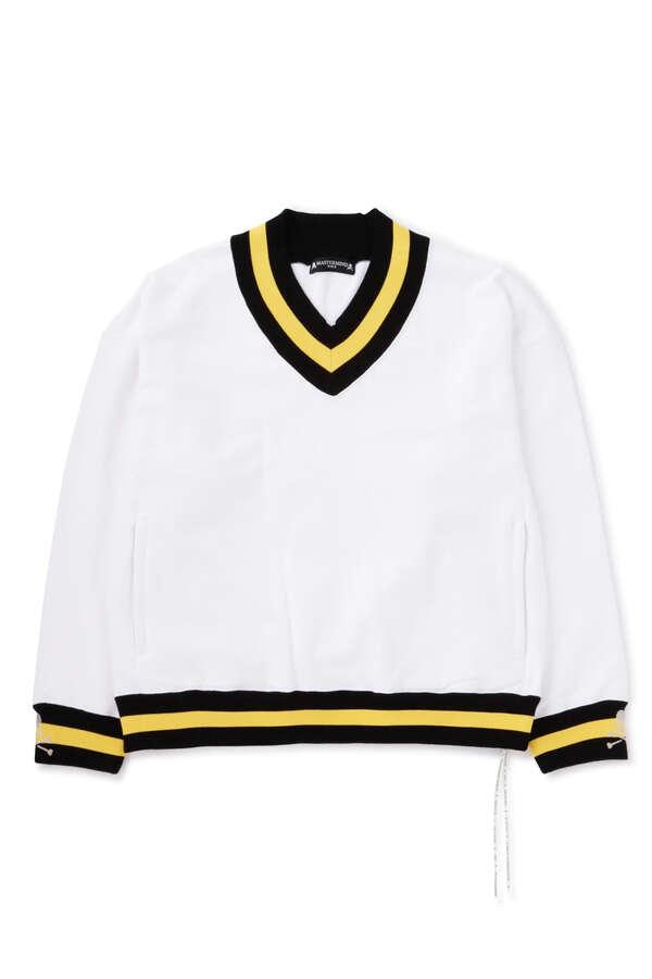 Boxy Tennis V.Neck Sweater