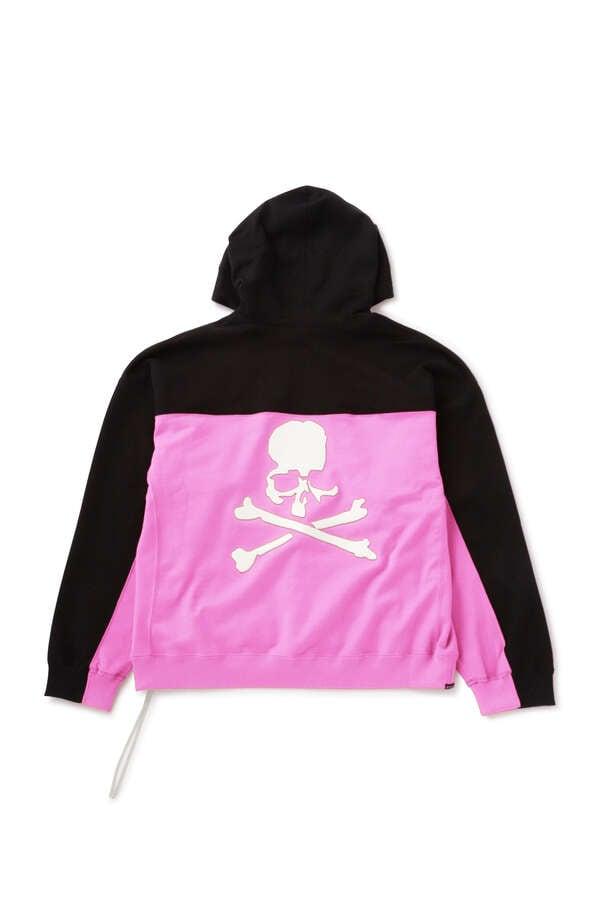 Boxy Block Skull Hoodie