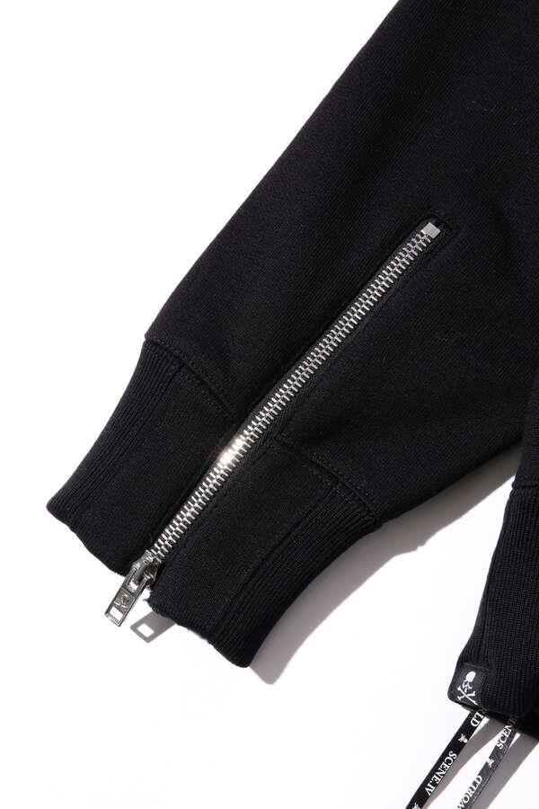 Sequin Zip Up Hoodie