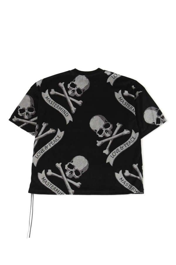 Boxy All-Over Skull TeeBoxy All-Over Skull Tee