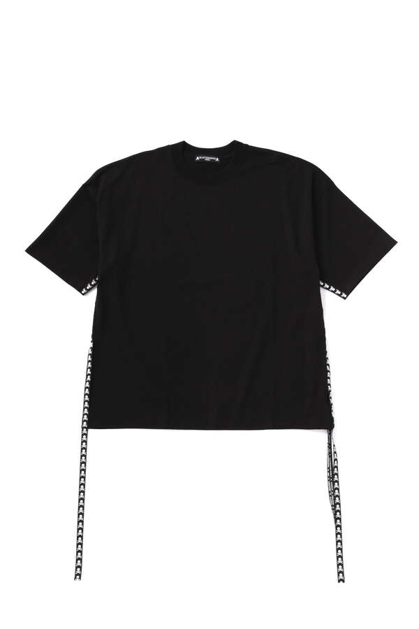Boxy Skull Taped Tee