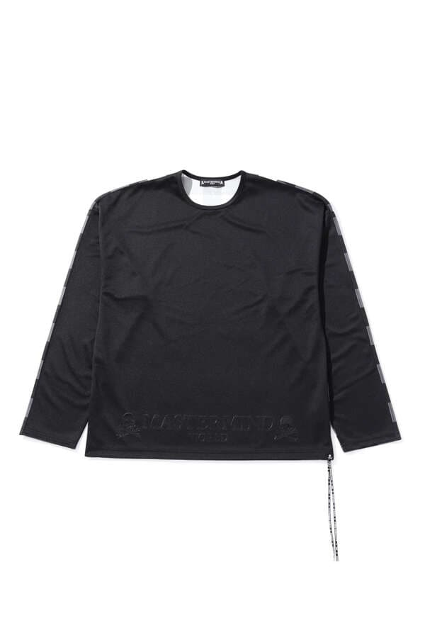 Boxy Block Check LS Tee