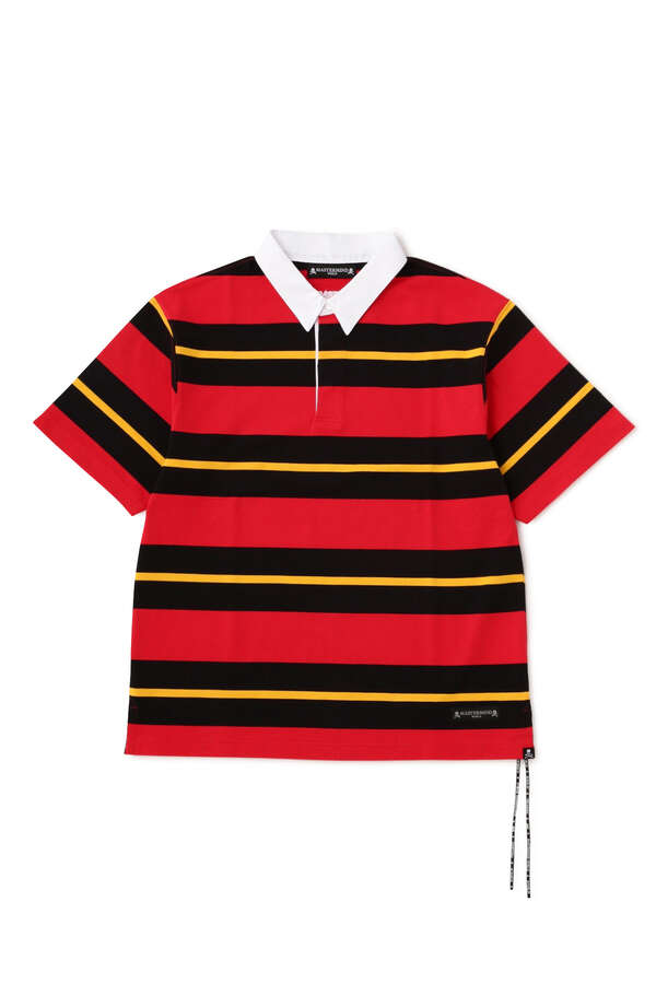 Boxy 3 Color Striped 3/4 Tee