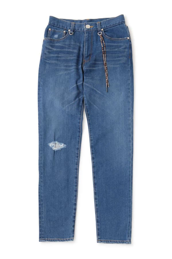 Water Repellent Denim Pant Slim Tapered