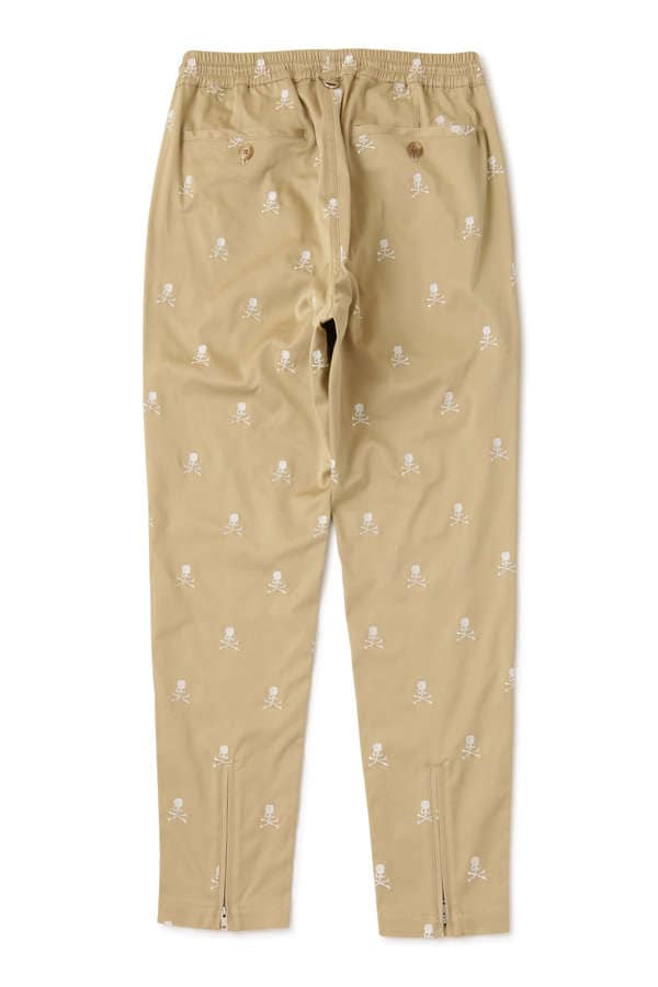 Allover Skull Beach Pants Slim