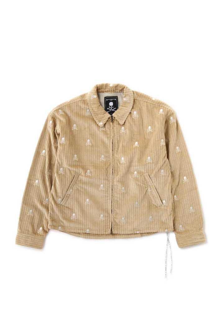 Corduroy Zip Up Jacket