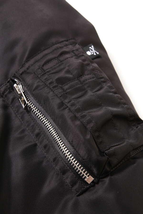 Nylon Aviator Jacket