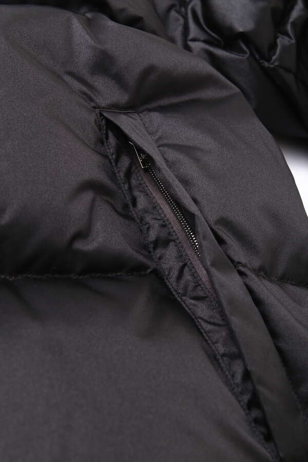 Nylon Puffy Jacket