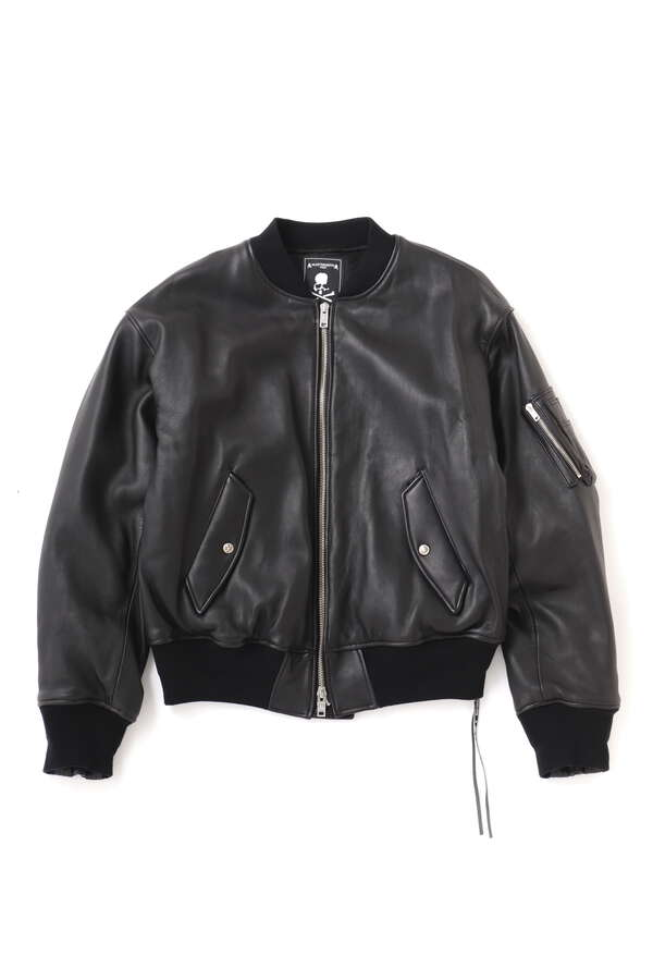Lambskin Bomber Jacket