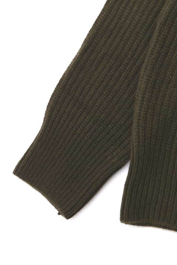 Cashmere Needle Punch Crewneck