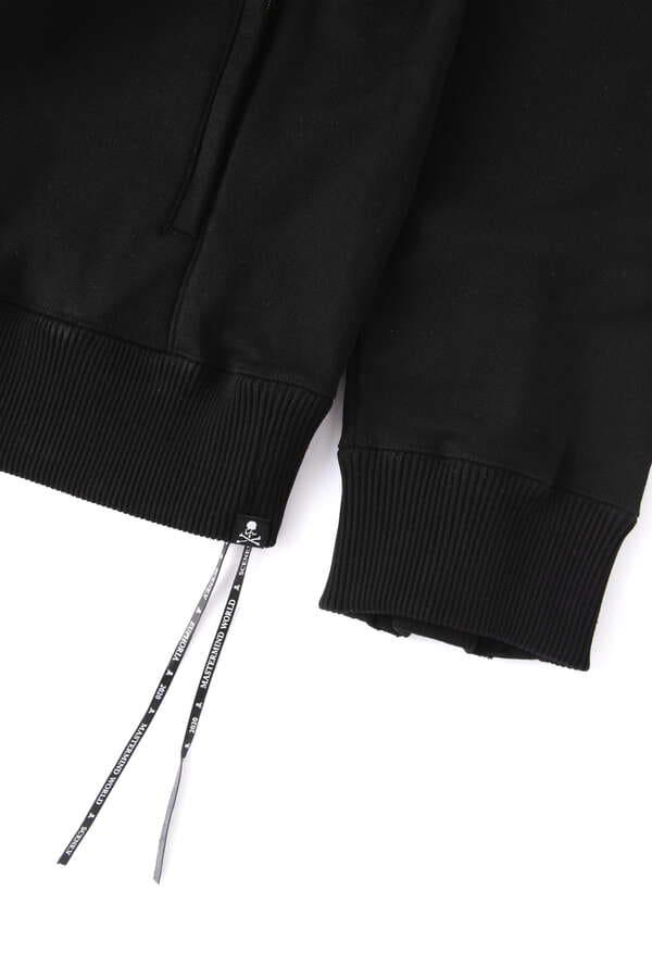 Sequins Zip Up Hoodie