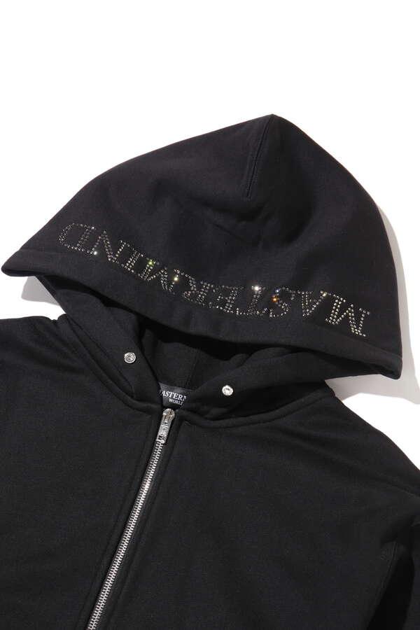 Swarovski(R) Zip Up Hoodie