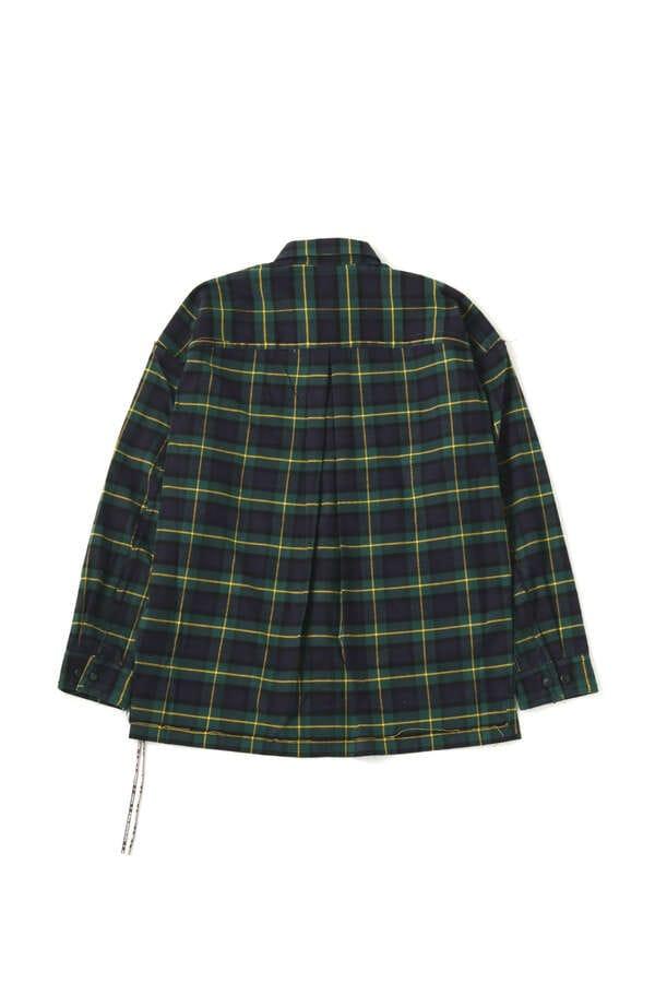 Reversible Flannel ShirtReversible Flannel Shirt