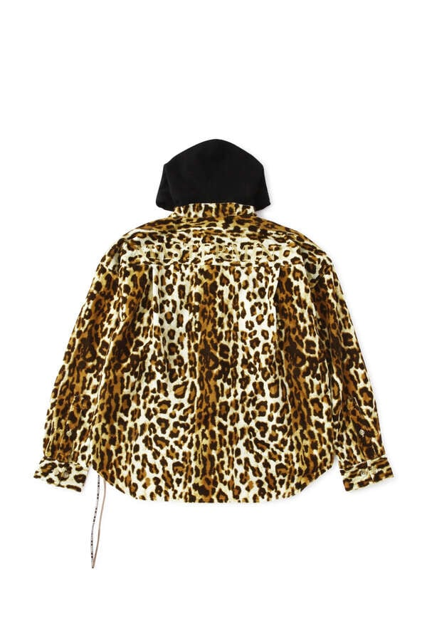 Animal Hooded Shirt