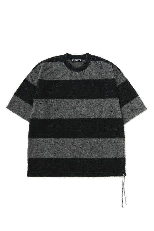 Boxy Pile Striped Tee