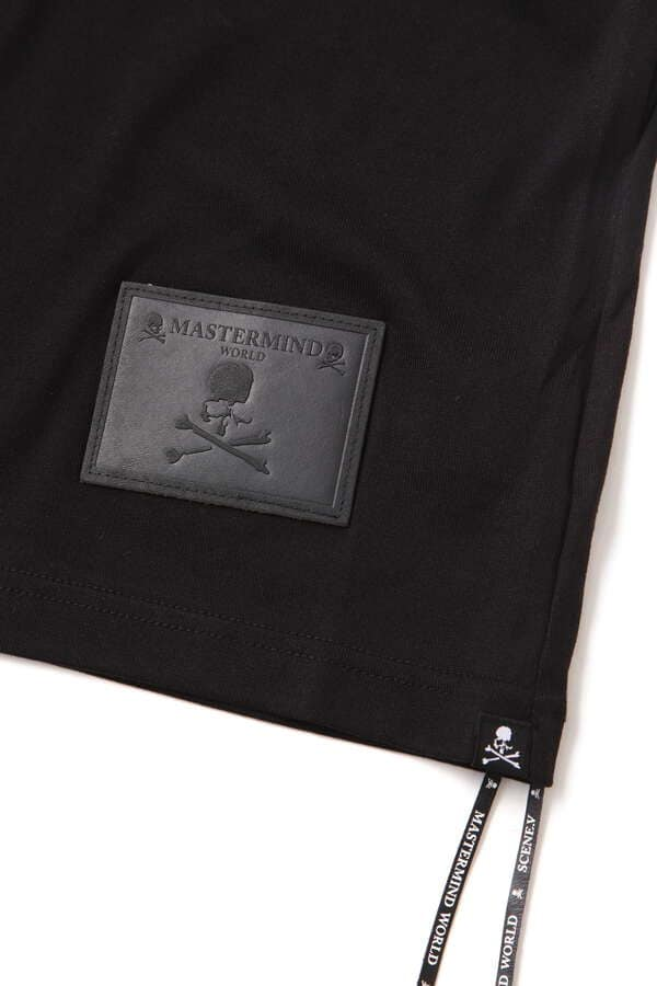 Boxy Leather Patch Tee